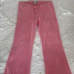 GUC⭐️ Juicy Couture Velour Track Pants Medium